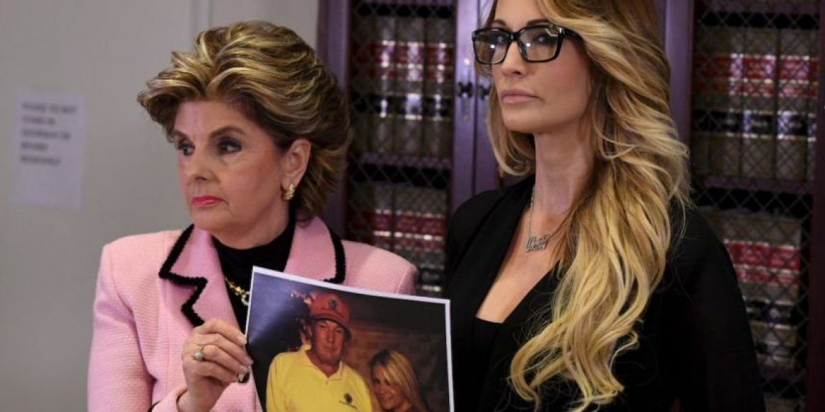 Actriz de cine para adultos denuncia acoso de Donald Trump