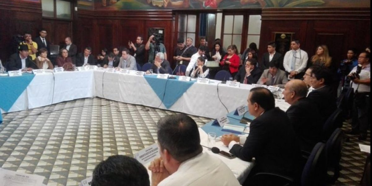 Jefes de bloque postergan elección de junta directiva