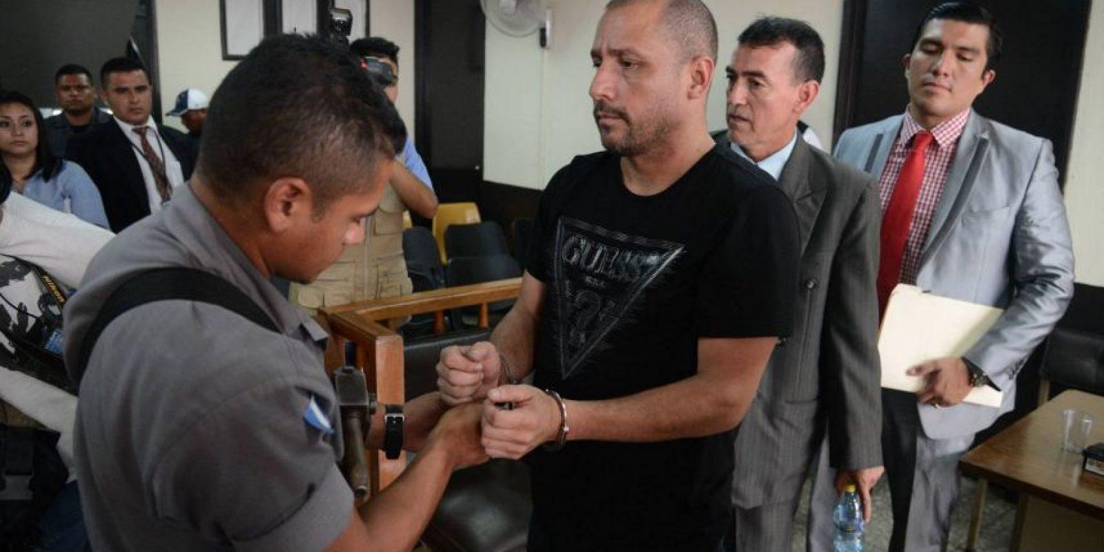 """Marlon Francesco Monroy Meoño, de 42 años, alias """"el Fantasma"""", Foto:Publinews"""