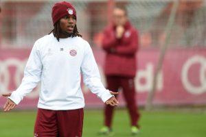 Renato Sanches en un entrenamiento. Foto:AFP