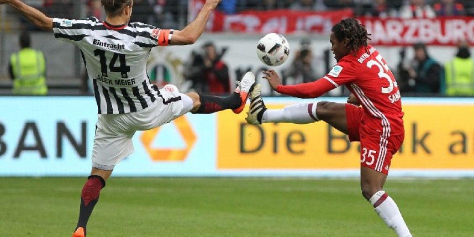 Renato Sanches en un partido de Bundesliga. Foto:AFP