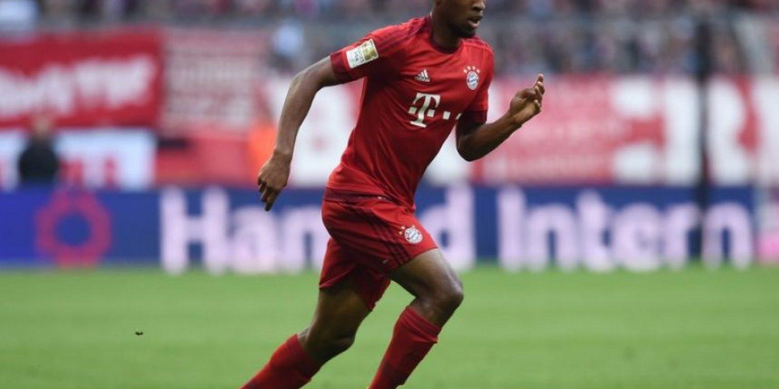 Kingsley Coman en un partido con el Bayern Múnich. Foto:AFP