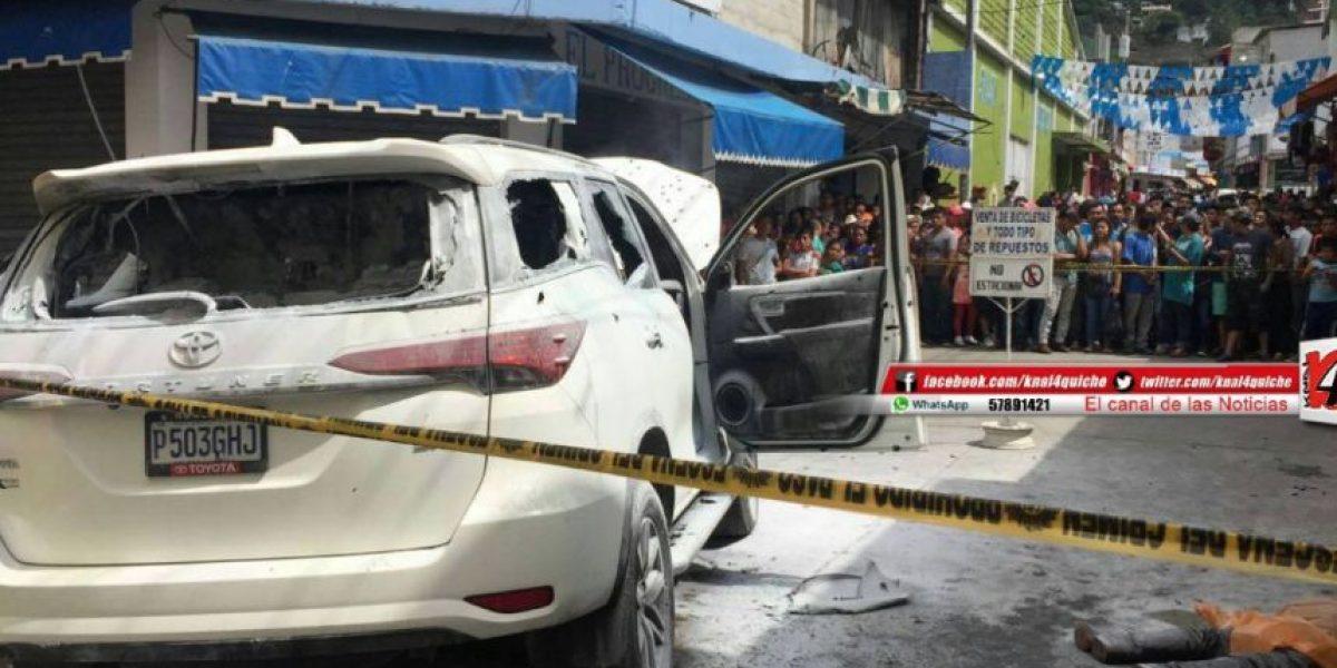 Matan a alcalde de La Libertad, Huehuetenango, Carlos Aguirre
