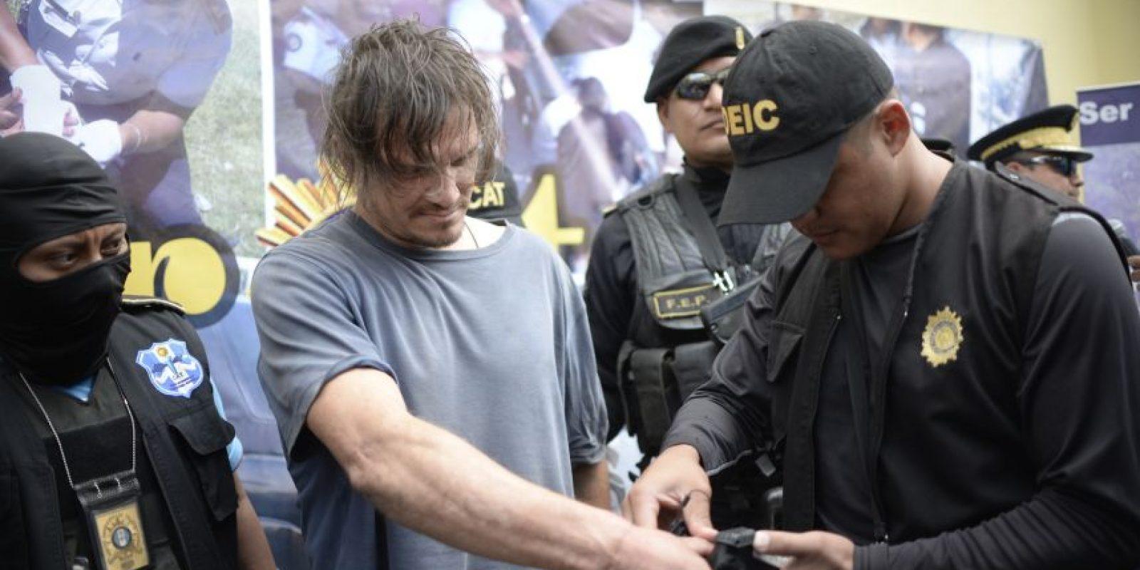 "Edward Lee Leblanc, alias ""Gringo loco"", Foto:AFP"