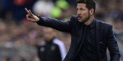 """Diego """"El Cholo"""" Simeone fue nombrado como el mejor entrenador en España. Foto:AFP"""