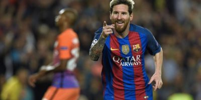 Lionel Messi fue premiado como el mejor delantero de La Liga. Foto:AFP