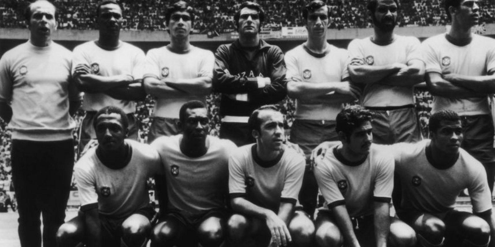 Getty Images Foto:El mítico Brasil de 1970