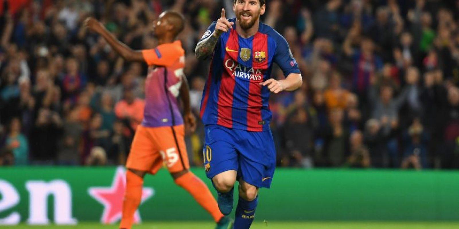 Getty Images Foto:Lionel Messi (delantero por derecha)