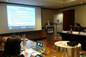 Presentación de informe. Foto:Cortesía