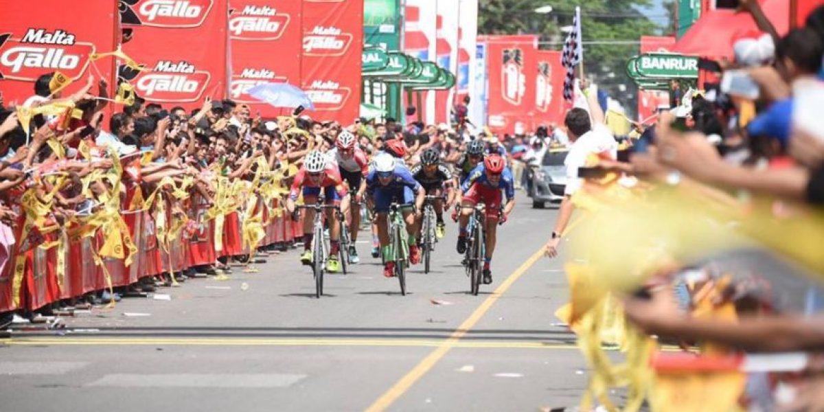 Tercer día y tercer triunfo para Guatemala en la Vuelta
