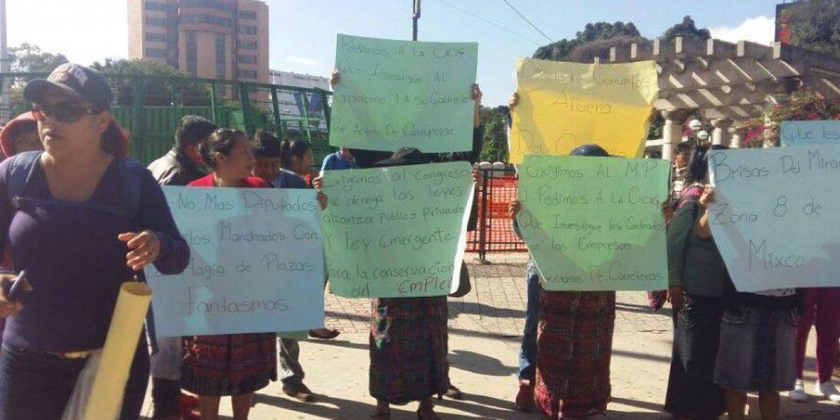 Codeca realiza manifestaciones, pero sin bloquear carreteras