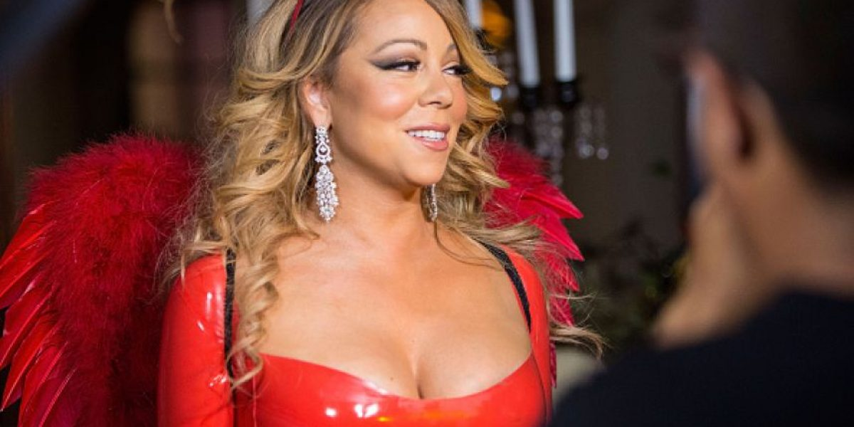 Mariah Carey inicia la celebración de Halloween con un sexy y ajustado traje