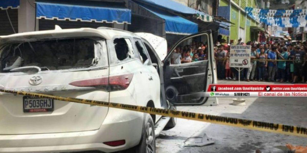 Viralizan video minutos después del ataque armado en contra de alcalde de la Libertad, Huehuetenango