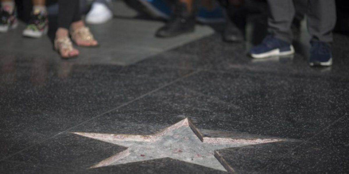 Hacen añicos la estrella de Donald Trump en el Paseo de la Fama en Hollywood