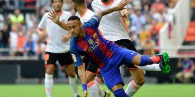 El Barça se mete a una bronca con la Liga tras botellazo a Neymar