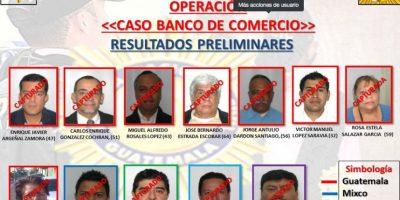 PNC captura hasta el momento a 12 señalados en el caso de Banco de Comercio