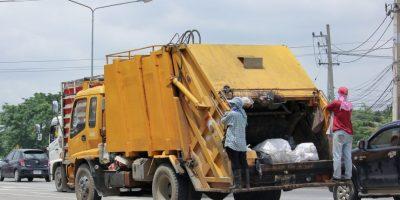 Gremial de recolectores de basura respaldan a transportistas