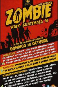 Foto:#ZombieWalkGuatemala