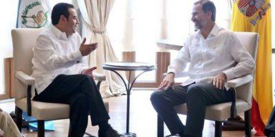 Rey Felipe VI, de España, reitera su apoyo a Guatemala