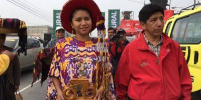 La portavoz de la cultura maya quiché cuenta que el ciclismo ha unido a su familia