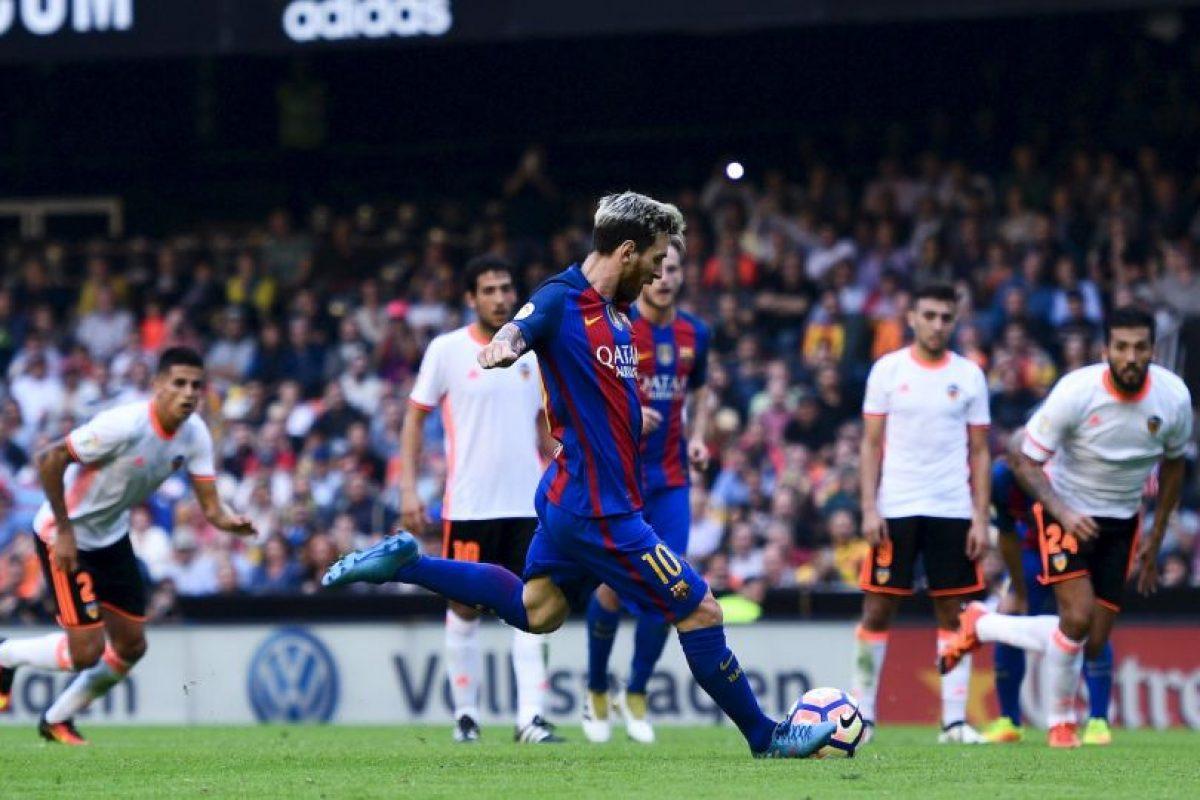 """Getty Images Foto:Lionel Messi: """"La Pulga"""" se debe a que era muy pequeño cuando era niño"""