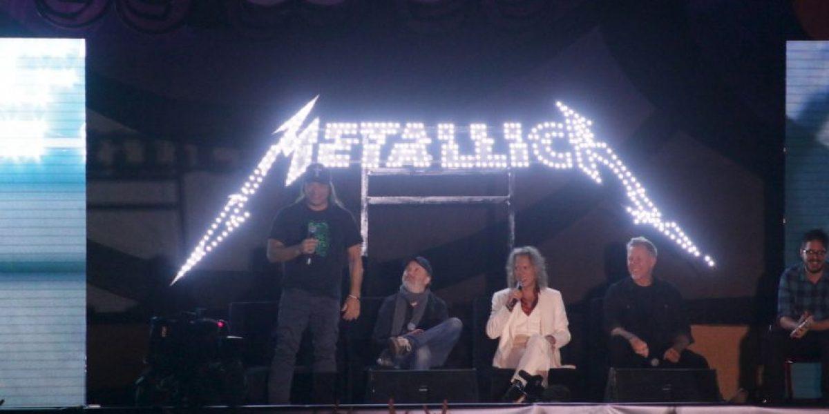 Así fue la explosiva reunión de Metallica con fans en México