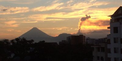 Registran incremento de actividad del Volcán de Fuego