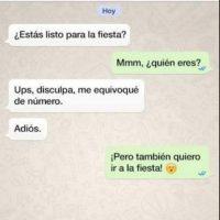 Facebook Foto:De las peores cosas que les pueden pasar: alguien les da su número para que le manden WhatsApp… pero, ¡sorpresa! Se los dio mal.