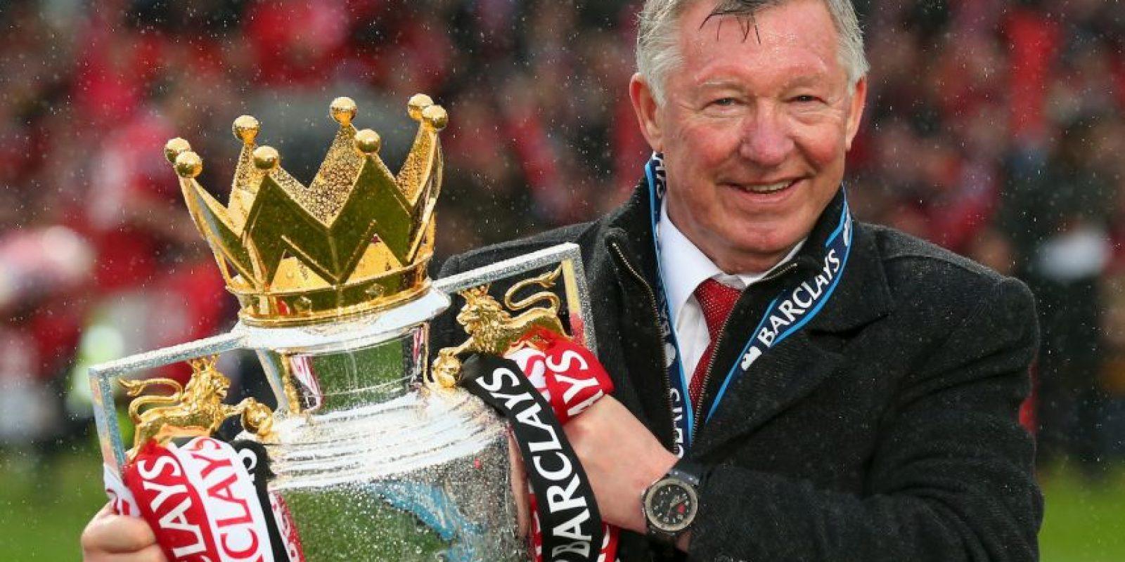 Getty Images Foto:1.- Alex Ferguson (49 títulos): Histórico técnico de Manchester United. En los Diablos Rojos cosechó 38 títulos, a los que les suma trofeos en los escoceses St Mirren y Aberdeen.