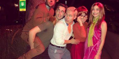 """Foto:Miranda Cosgrove y su amiga de """"iCarly"""", Jeannette McCurdy recrearon una escena de """"Scooby Doo"""""""