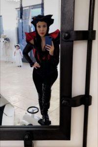 Foto:Kourtney Kardashian como vampira