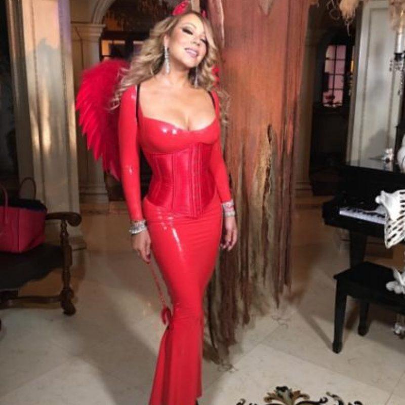 Foto:Mariah Carey es un diablito muy glamouroso