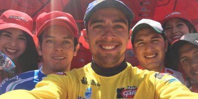 La selfie que es la envidia de todos en la Vuelta a Guatemala