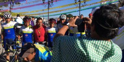 """El ciclismo es un """"vicio"""" para Juan Antonio Salazar"""