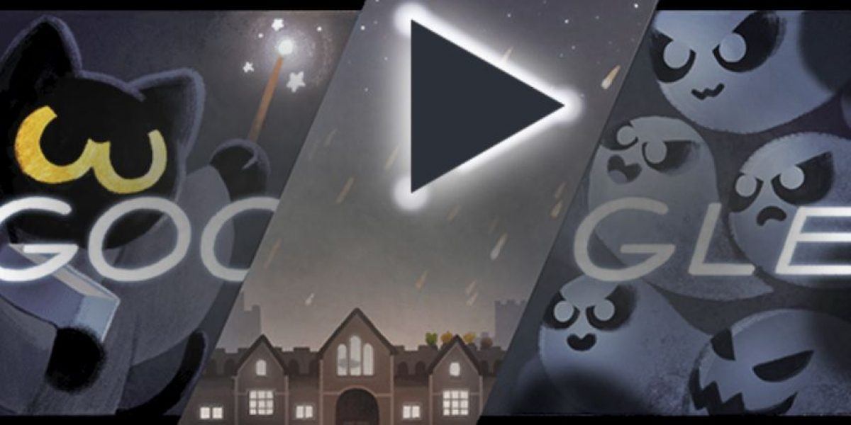 ¿Quieren jugar con el Doodle de Google por Halloween? Así se hace