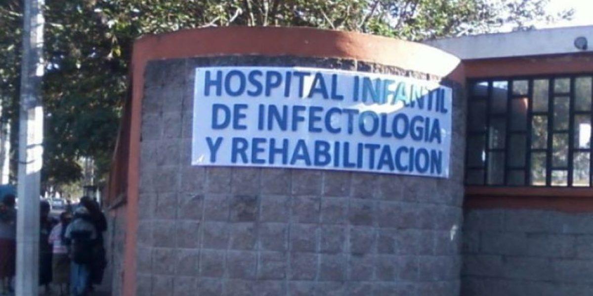 Allanamientos en Hospital Infantil de Infectología dejan un capturado