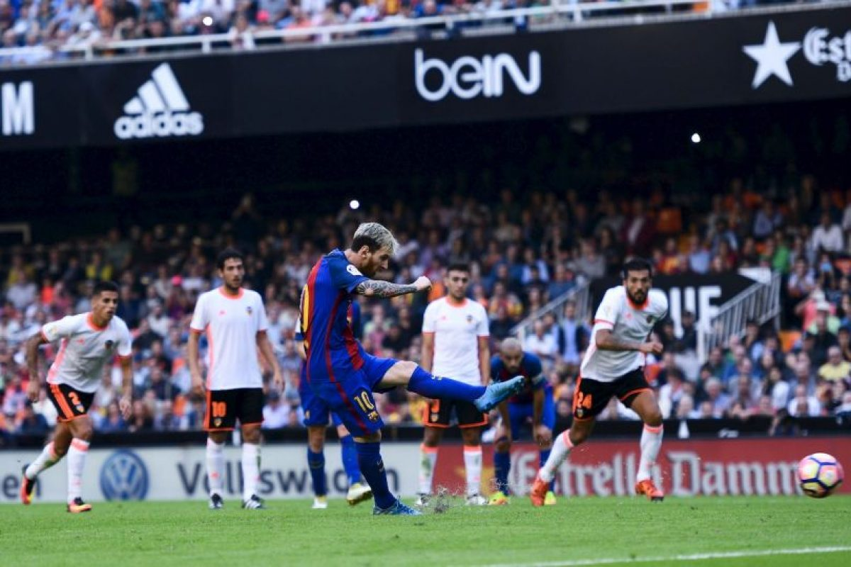 Getty Images Foto:Lionel Messi comparó a Luis Enrique con Pep Guardiola