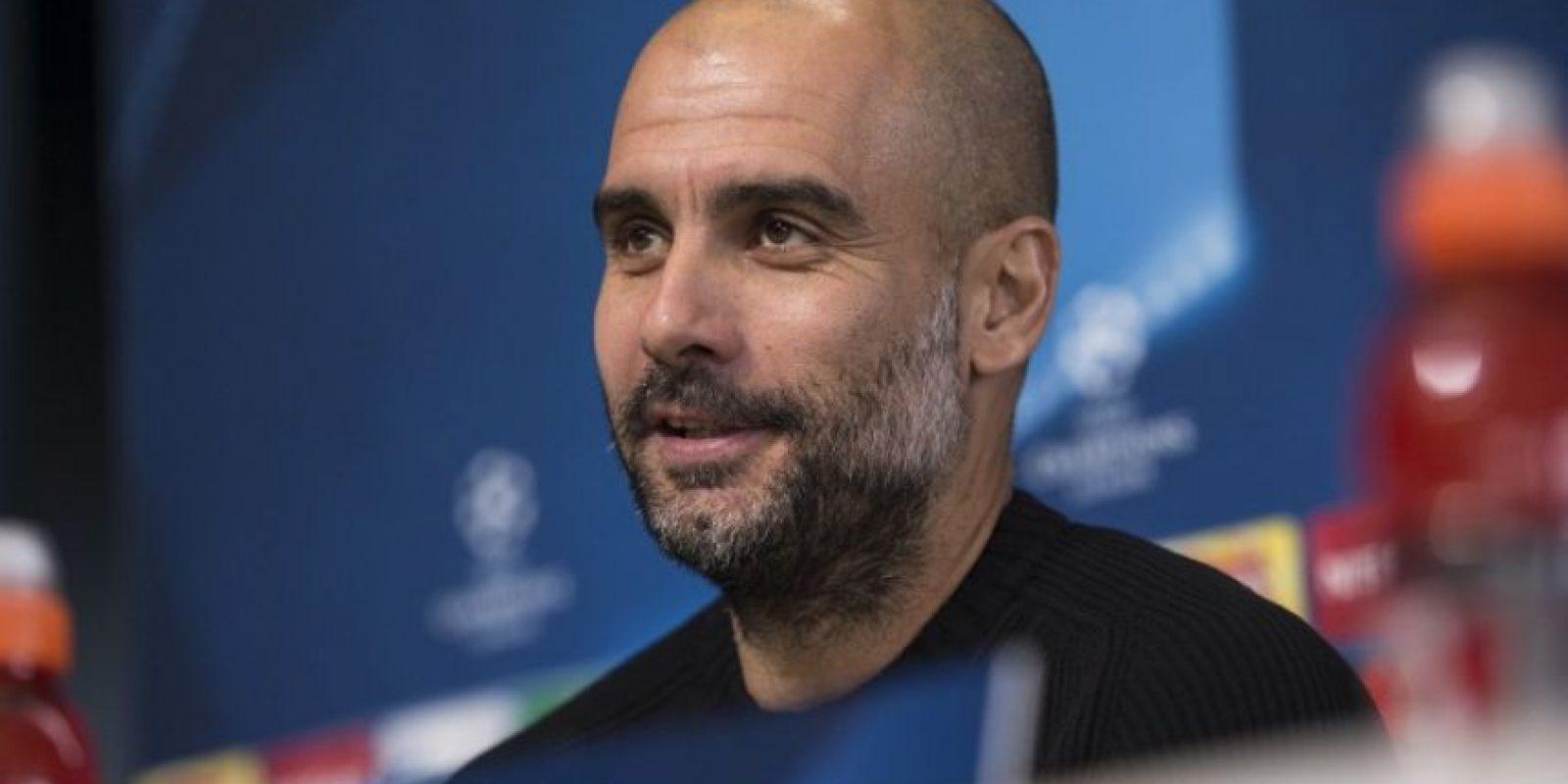 Pep Guardiola, en conferencia de prensa, habla sobre el partido ante el Barcelona. Foto:AFP