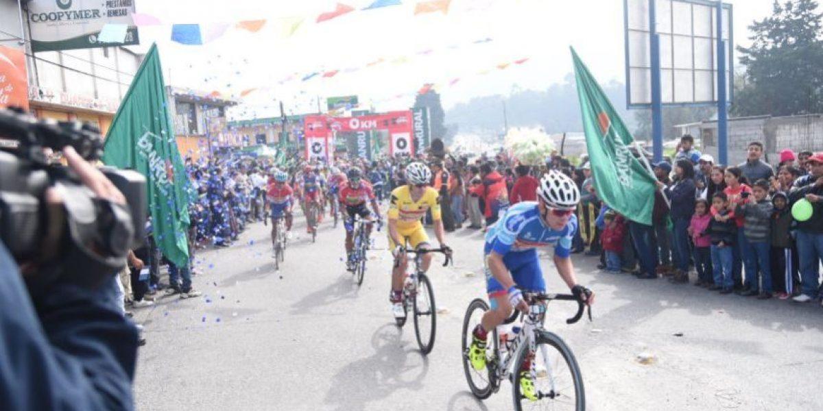 En Chimaltenango empieza a caer el telón de la Vuelta
