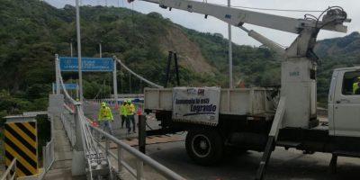 Por segunda vez este año cierran el paso hacia El Salvador debido a la reparación del puente El Jobo