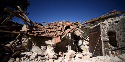 AFP Foto:El terremoto del domingo fue de magnitud 6.6