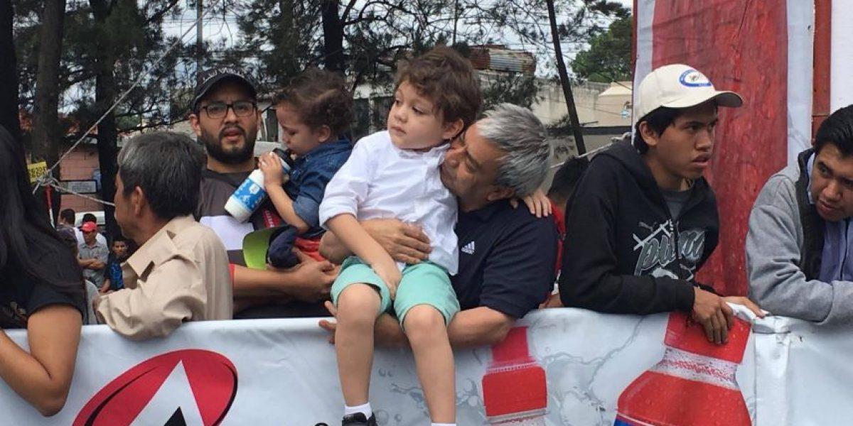 La fiesta de la Vuelta a Guatemala fue en familia