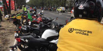 Los intrépidos perseguidores de los ciclistas
