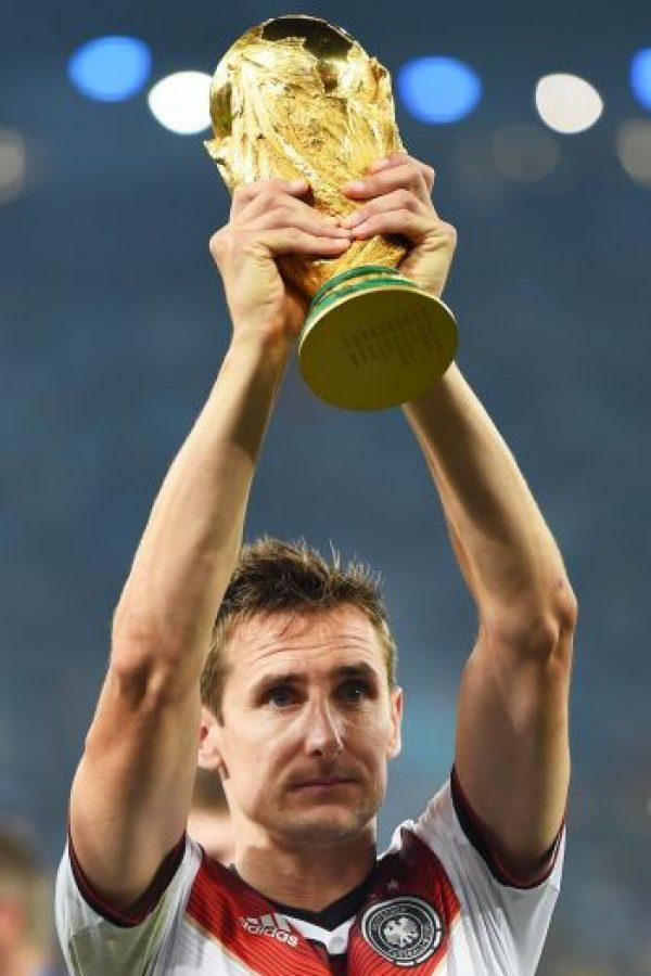Getty Images Foto:Se retira Miroslav Klose, el hombre que superó a Ronaldo
