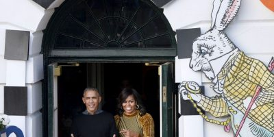 Foto:La pareja presidencial regaló dulces a los niños