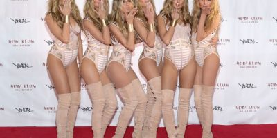 Heidi Klum se clona para su sorprendente disfraz de Halloween