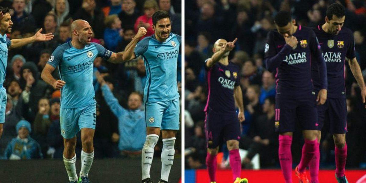 El Manchester City le da un duro golpe al Barcelona