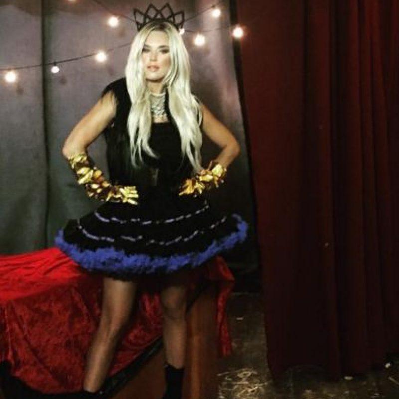 Instagram Foto:En general, las divas de WWE también lucieron disfraces de Halloween. Lana (Diva de WWE)