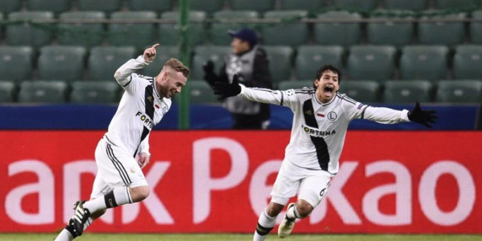 El Real Madrid obtuvo un inesperado resultado en su visita a Varsovia este miércoles. Foto:AFP
