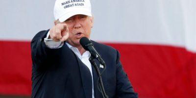El candidato republicano a la presidencia de EEUU, Donald Trump, hace campaña en Miami el 2 de noviembre de 2016 Foto:Rhona Wise/afp.com